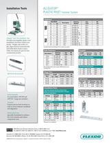 Alligator® Plastic Rivet Literature - 2