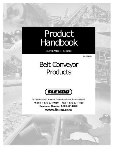 Belt Conveyor Products Handbook