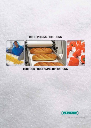 BELT SPLICING SOLUTIONS FOR FOOD PROCESSING OPERATIONS