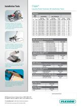 clipper® Laundry Patch Fastener System - 2
