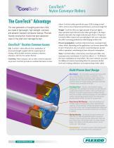 Coretech? Nylon Conveyor Rollers - 1