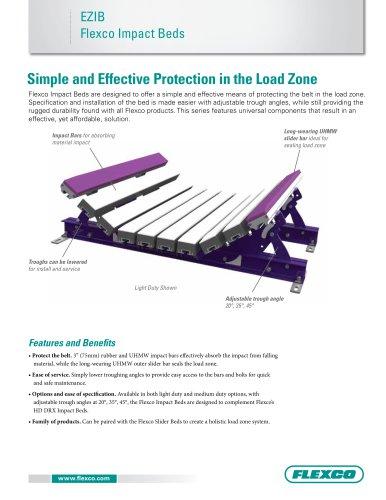 EZIB Flexco Impact Beds