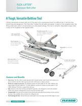 Flex-Lifter Conveyor Belt Lifter - 1