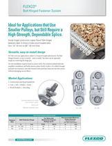 Flexco® Bolt Hinged Fastener System - 1