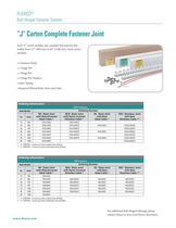 Flexco® Bolt Hinged Fastener System - 2