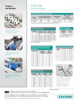 Flexco® BR6 Solid Plate Fasteners - 2