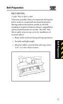 Flexco® SR Rivet Hinged Fastener Pocket Guide - 13