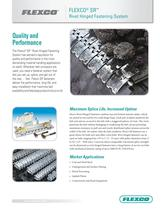 Flexco® SR Rivet Hinged Fastening System - 1