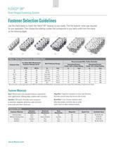 Flexco® SR Rivet Hinged Fastening System - 4