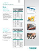 Flexco® SR Rivet Hinged Fastening System - 9