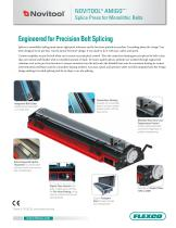 NOVITOOL® AMIGO™ * Splice Press for Monolithic Belts - 1