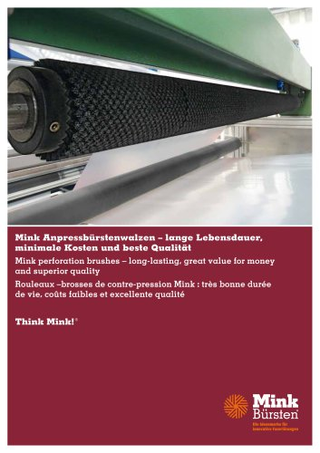 Mink perforation brushes – long-lasting, great value for money and superior quality