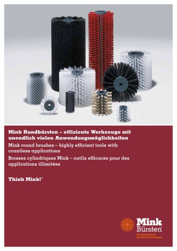 Mink Round brushes - highly efficient tools with countless applications