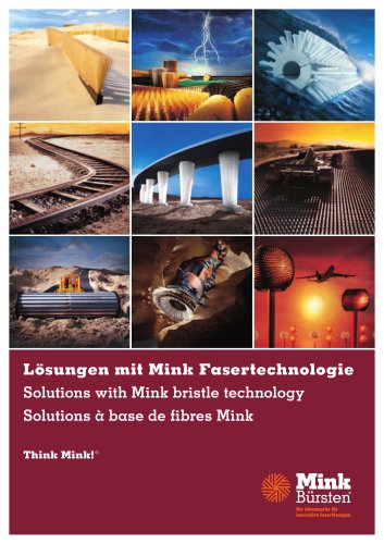 Solutions with Mink bristle technology