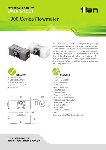 1000 Series Flowmeter