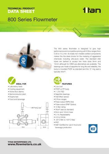 800 Series Flowmeter