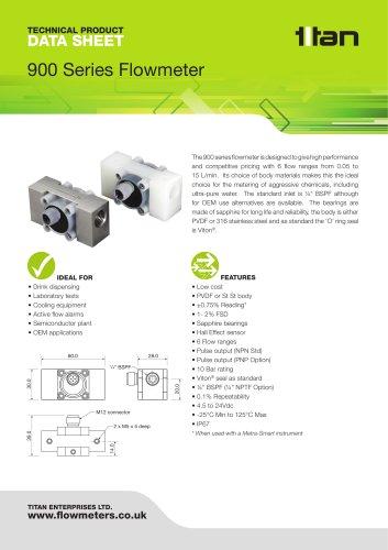 900 Series Flowmeter