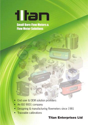 Small Bore Flow Meters & Flow Meter Solutions