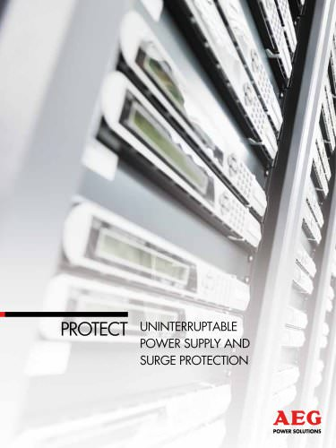 Data & IT PROTECT: Uninterruptible Power Supplies and Surge Protection