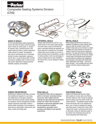 Composite Sealing Systems Division