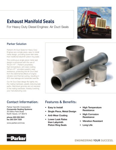 Exhaust Manifold Seals