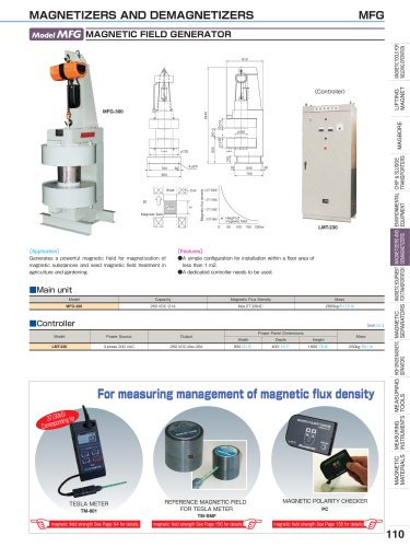 MAGNETIZERS AND DEMAGNETIZERS