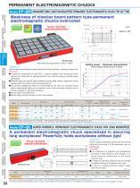 PERMANENT ELECTROMAGNETIC CHUCKS - 3