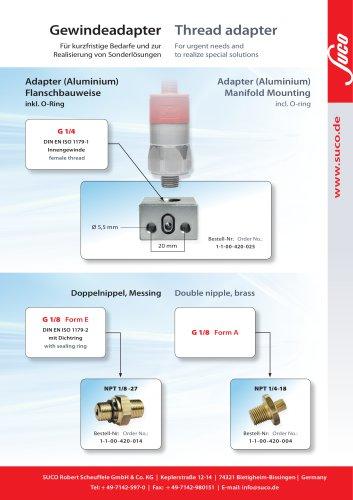 Gewindeadapter / thread adapter