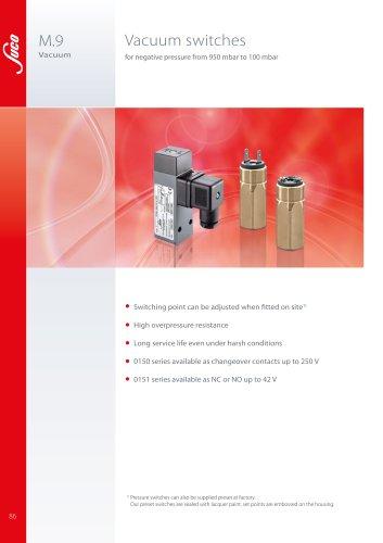 M.9 Vacuum switches