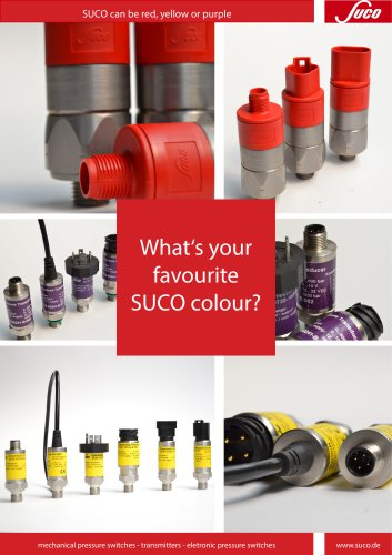 SUCO - one brand, many colors