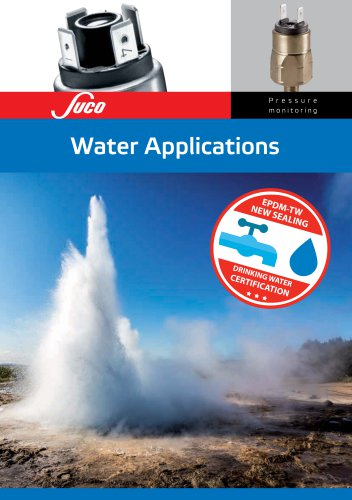SUCO Water Applications