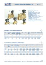 SOLENOID VALVES FOR COMPRESSED AIR - 1