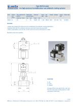 Type BV3 (3-way) For high-pressure humidification and adiabatic cooling systems - 1