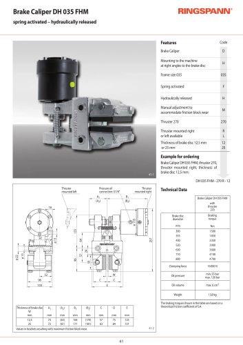 DH 035 FHM / FHA