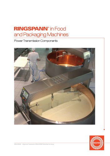 Food and packaging machines