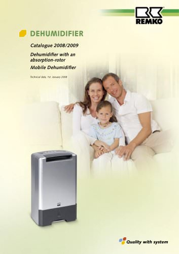 Dehumidifier 2008-2009