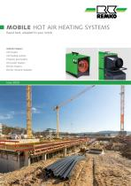 Mobile Hot-Air-Heating Systems