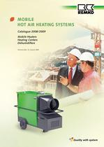 Mobile Warm Air Heating Systems 2008-2009 - 1