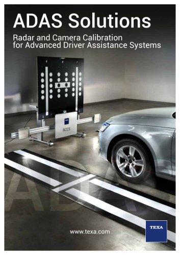 ADAS Solution - Texa - PDF Catalogs   Technical