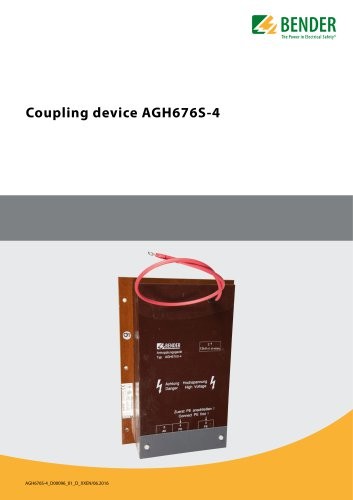 Coupling device AGH676S-4