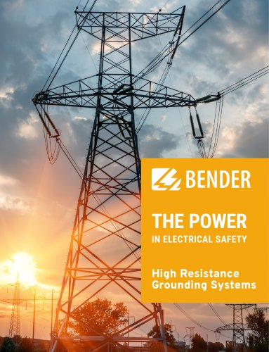 High Resistance Grounding Systems