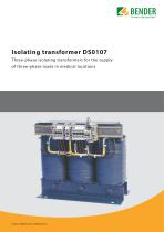 Isolating transformer DS0107