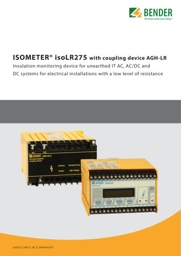 ISOMETER® isoLR275 with AGH-LR