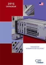 Catalogue CXR - Resume des produits de la gamme CXR