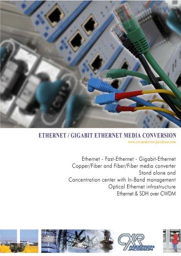Converter Ethernet media -
