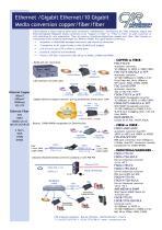 Media Conversion Ethernet - Gigabit Ethernet
