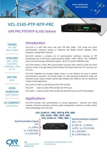 VCL-2145-PTP-NTP-PRC