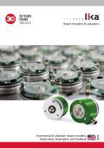Incremental & absolute rotary encoders 2013