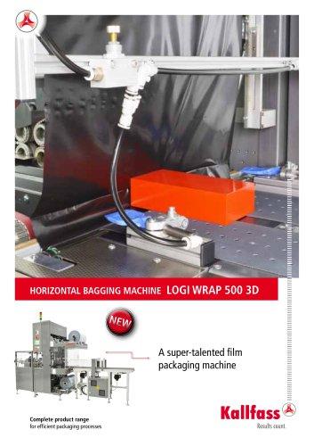 Automatic Bundler Shrink Wrapper: Logi Wrap 500 3D