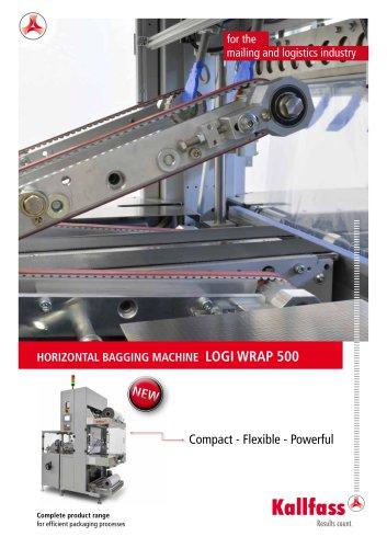 Automatic Bundler Shrink Wrapper: Logi Wrap 500